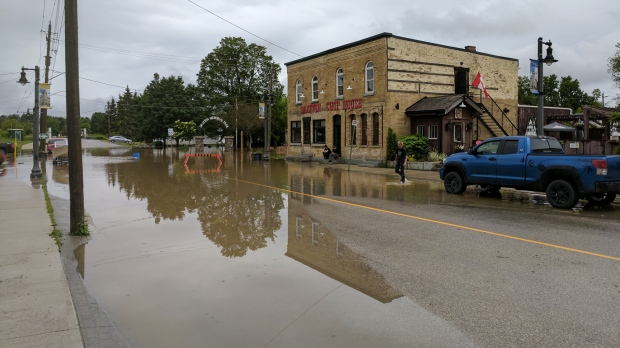 Drayton flooding