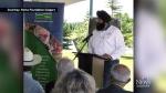CTV Calgary: Park honouring MLA unveiled