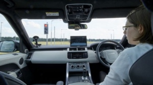 The prototype technology enables the car to operate autonomously through a city, obeying traffic lights, negotiating T-junctions and roundabouts (Jaguar Land Rover)