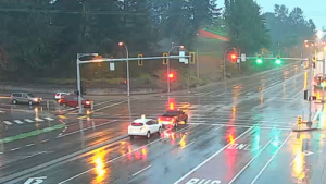 There is traffic camera footage proving Wieslew Jagielski wasn't at fault for a May 11 fender-bender in Surrey, but he had to obtain it himself.