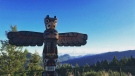 Instagram user @cerush snapped this perfect shot of a roadside totem pole in beautiful British Columbia. (Instagram / @cerush)