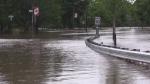 Flooding causes road closures, evacuations