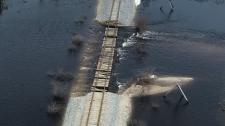 Rail line to Churchill