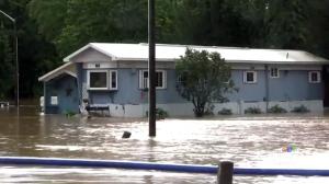 Minto, Ontario flooded