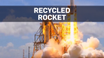 SpaceX launched, landed recycled Falcon 9 rocket
