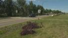 Crews make changes to crosswalk where woman was ki