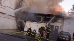 'All gone': Flames torch 7 Vancouver businesses