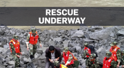 More than 120 buried in landslide in China