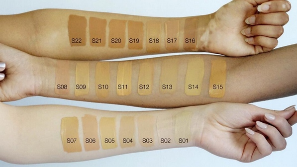 Finding the right foundation colour is still an ongoing battle