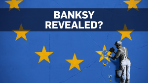Slip-up fuels speculation about Banksy's identity