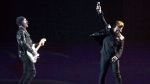 Irish rockers U2 kick off their world tour of the Joshua Tree in Vancouver on May 12, 2017. U2 band members Bono and the Edge will perform at next week's Canada Day celebrations in Ottawa. A spokeswoman for the Department of Canadian Heritage says the Irish rockers will perform one song around noon at the July 1 Canada 150 festivities on Parliament Hill. THE CANADIAN PRESS/Jonathan Hayward
