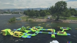 CTV Barrie: Floating water park