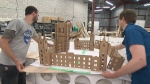 A team of skilled model builders are working towards building a miniature Canada. (CTV)