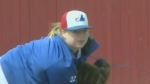 Lexi Fenske only girl in Sask. baseball league