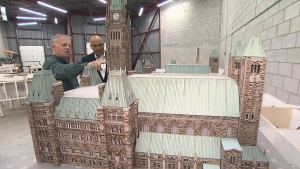 CTV National News: Mini model of Parliament
