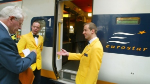 Eurostar plans to offer its passengers new themed programs. (AFP/Pierre Verdy)