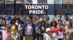 PM, family walk at Toronto Pride parade