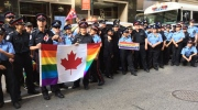 toronto cops, new york city, pride parade