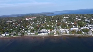 St. Andrews-by-the-Sea, a small town in New Brunswick, was named Canada's top travel destination by USA Today.