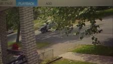 Surrey shooting security cam