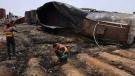 Oil tank explosion kills 140, injures dozens in Pa