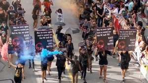 BLM appearance at Toronto Pride