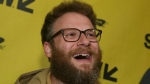 Seth Rogen arrives for 'The Disaster Artist' at the Paramount Theatre during the South by Southwest Film Festival on Sunday, March 12, 2017, in Austin, Texas. (Photo by Jack Plunkett/Invision/AP)