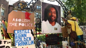 A photograph of Philando Castile, in St. Paul, Minn., on July 24, 2016. (Scott Takushi/St. Paul Pioneer Press via AP)