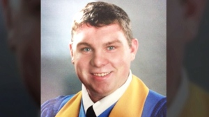 Jordan Macgillivary will be the only Grade 12 student graduating from his school in Advocate Harbour, N.S. this week.