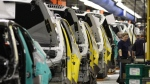 FILE - This May 8, 2008 file photo shows the production line at the BMW assembly plant in Greer, S.C. (AP Photo/The Greenville News, Ken Osburn, File)