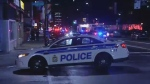 Police attend a shooting in Ottawa that left 25-year-old Ashton Dickson dead.