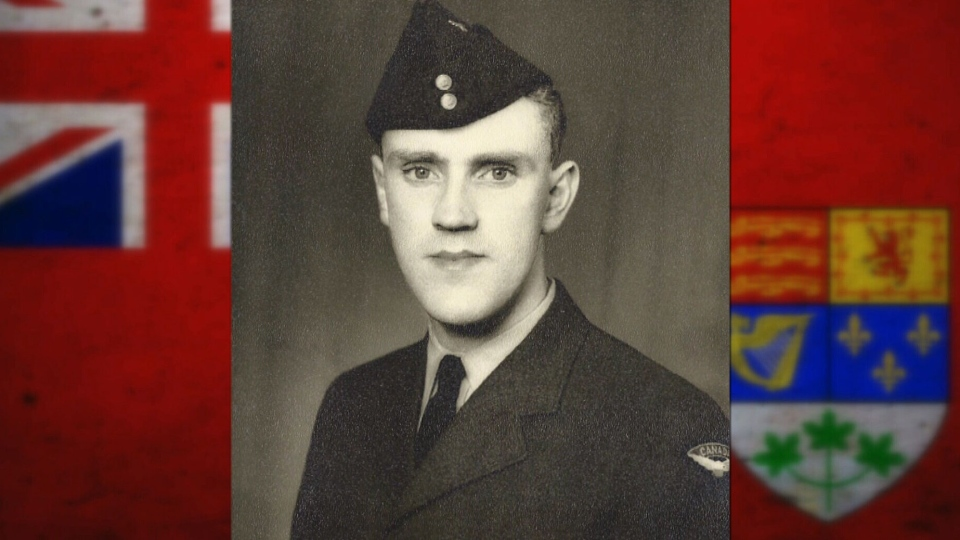 George Zwaagstra joined the Canadian Air Force in 1954.