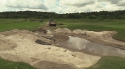 Golf courses closed as flood cleanup underway