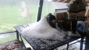 MyNews: Storm brings hail to Ont. community