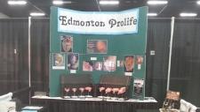 Edmonton Pro-Life display
