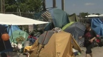 Tent city given 24 hours to clear out