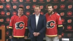 Flames draft