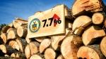 CTV National News: Softwood lumber duties
