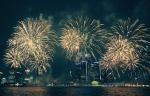 Fireworks light up the sky over the Detroit River on Monday, June 26, 2017. (Rich Garton / CTV Windsor)