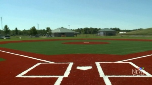 Accessible baseball diamond