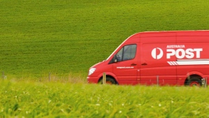 Australia Post delivery vehicle (source: Australia Post)