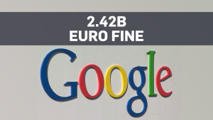 Top Story: Google fined record amount