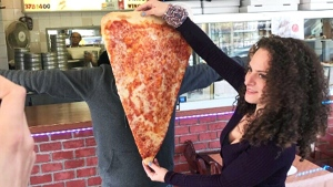 Pizza place offers 24-inch slices