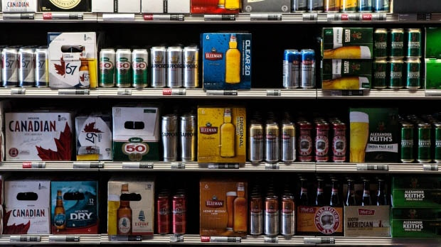 A Toronto beer store is pictured on Thursday, April 16, 2015. (The Canadian Press/Chris Young)
