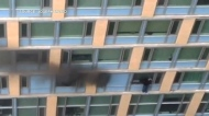 Resident rescued from downtown fire