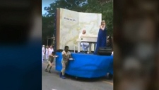 Montreal float controversy