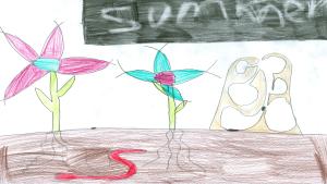 Melia Simard, 8 years old, Grade 3, Richmond Public School