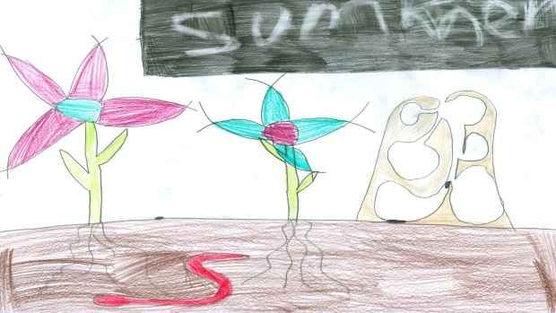 Melia Simard, 8 years old, Grade 3, Richmond Public School