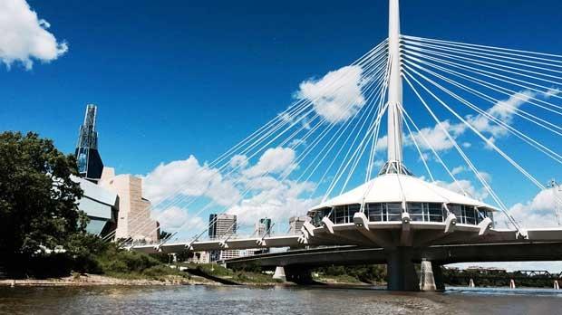 Beautiful Provencher Bridge. Photo by Rachelle Atto.