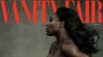 Serena Williams in a photo by Annie Leibovitz on the cover of the August, 2017 edition of Vanity Fair. (Annie Leibovitz/Vanity Fair via AP)